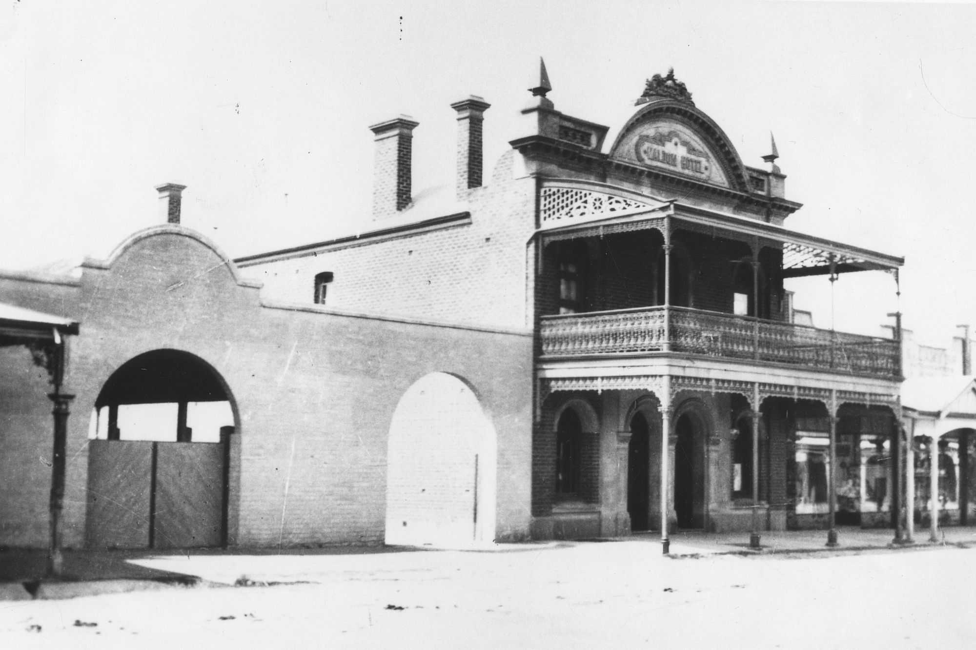 Maldon Hotel, 1909