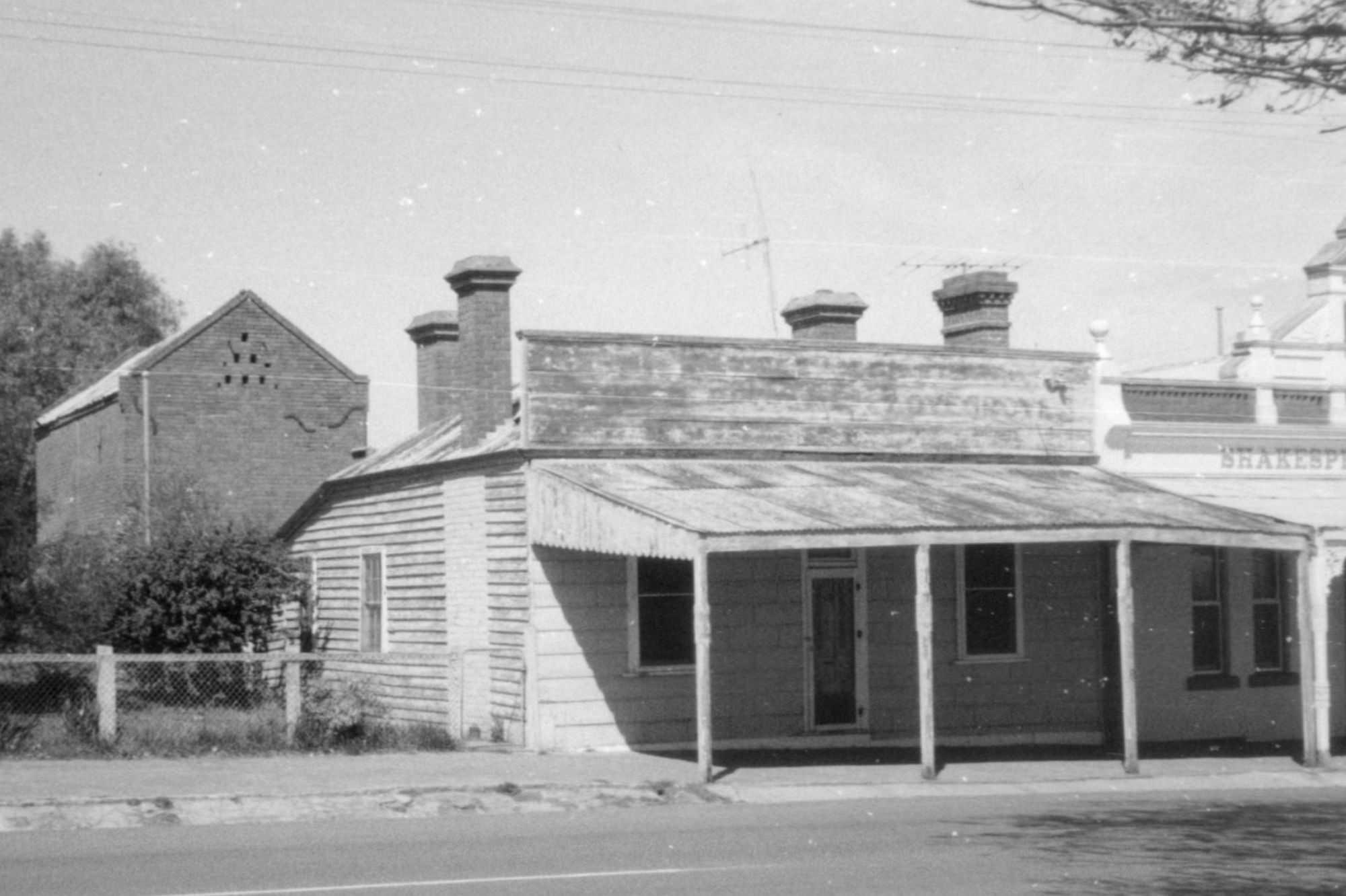 Farr's Building, c1860