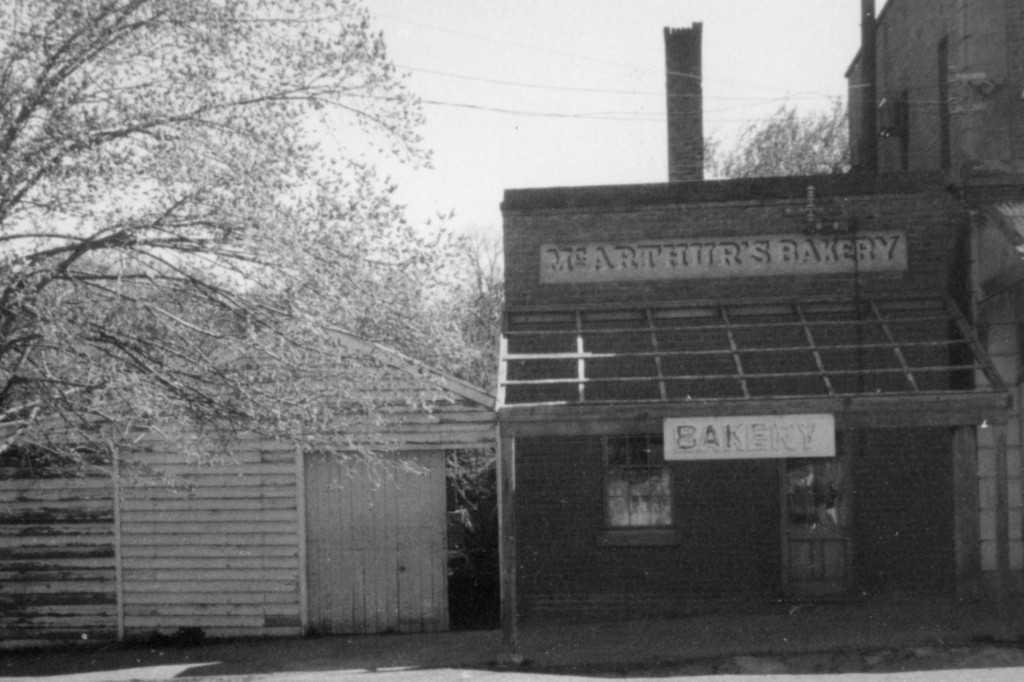 McArthur's Bakery, c1895