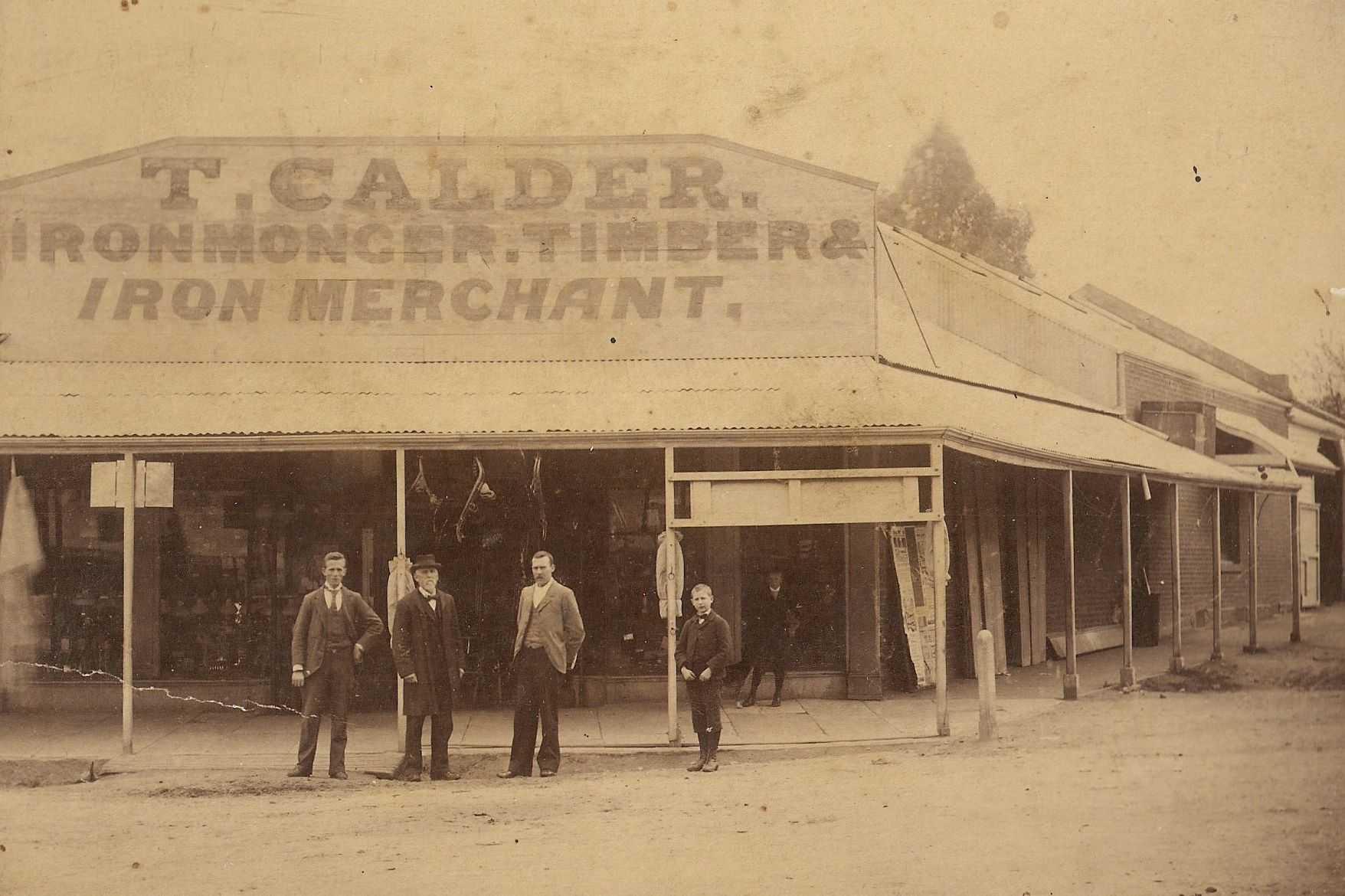 Calder's Ironmongery, 1866