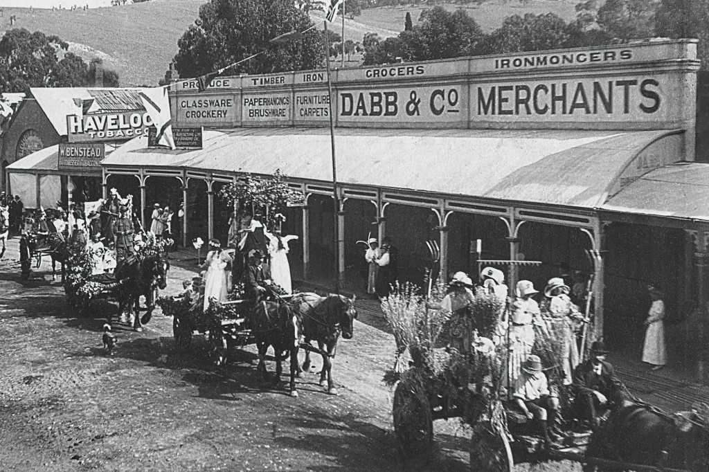 Dabb & Co General Store, from 1859