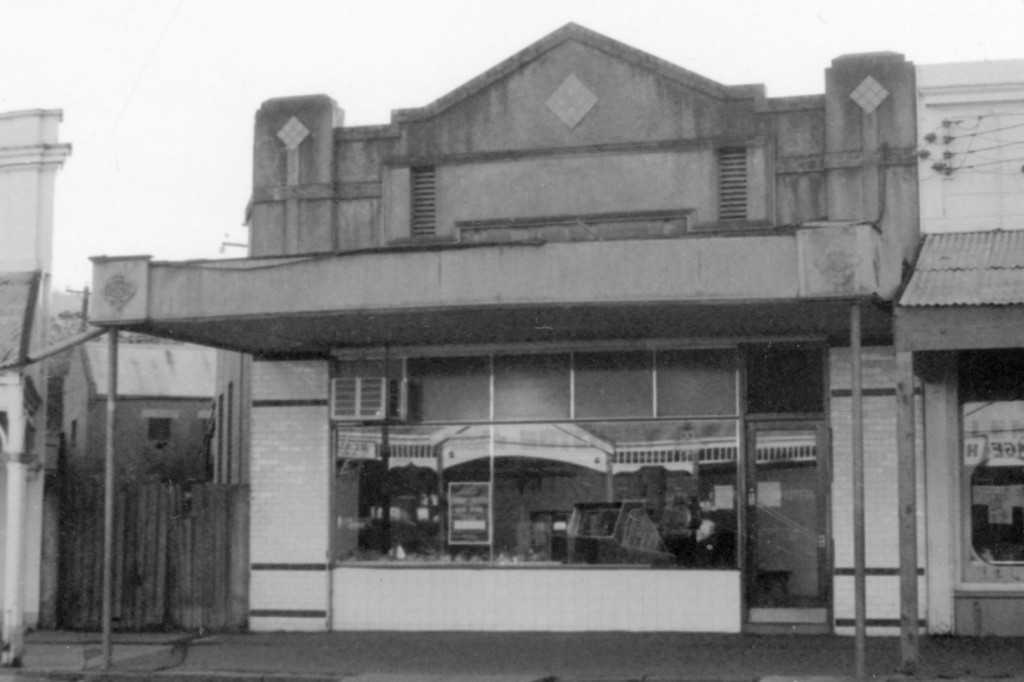 Chisholm's Butcher Shop, c1930