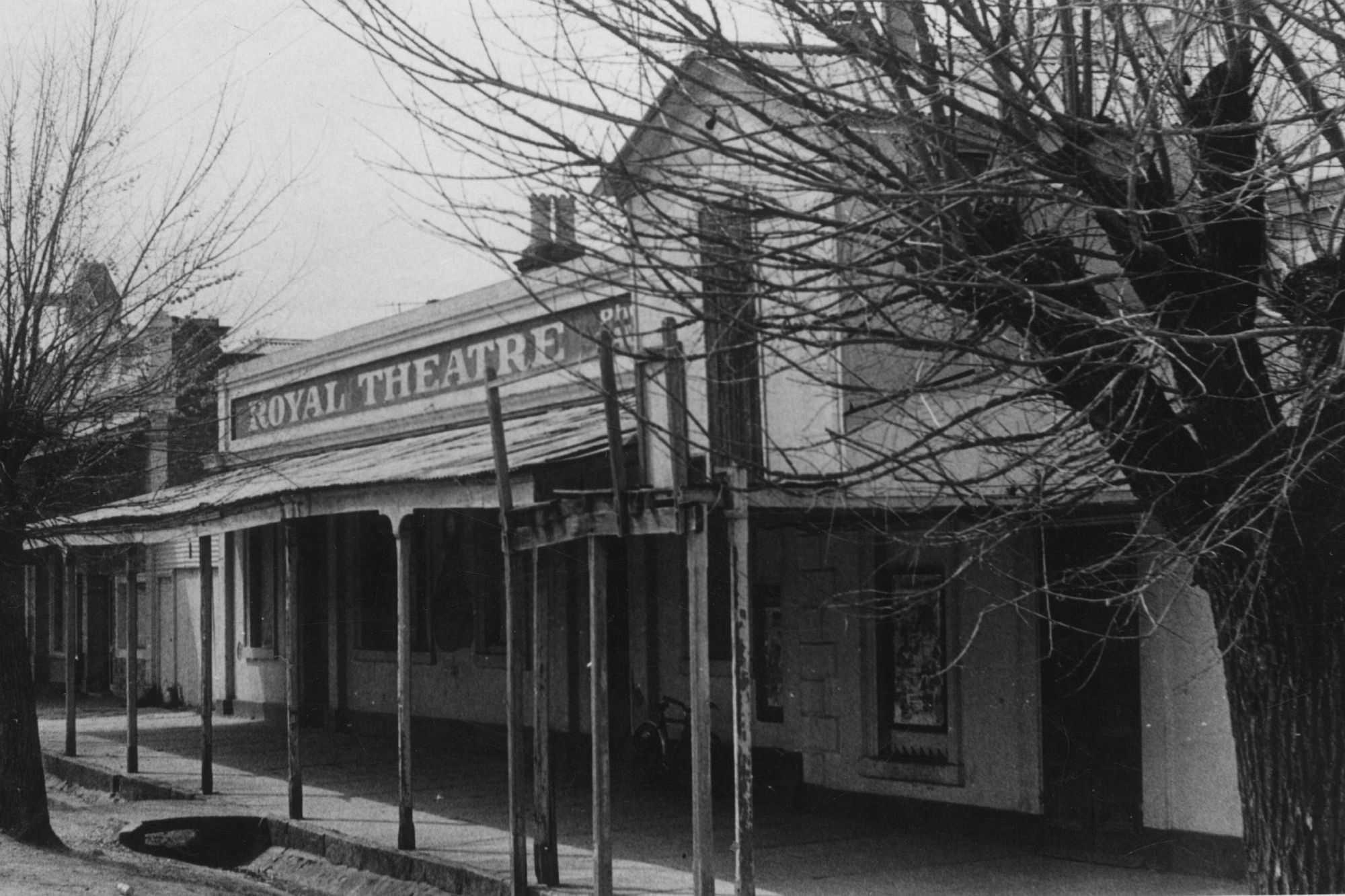 Royal Hotel & Theatre, 1862 & 1857