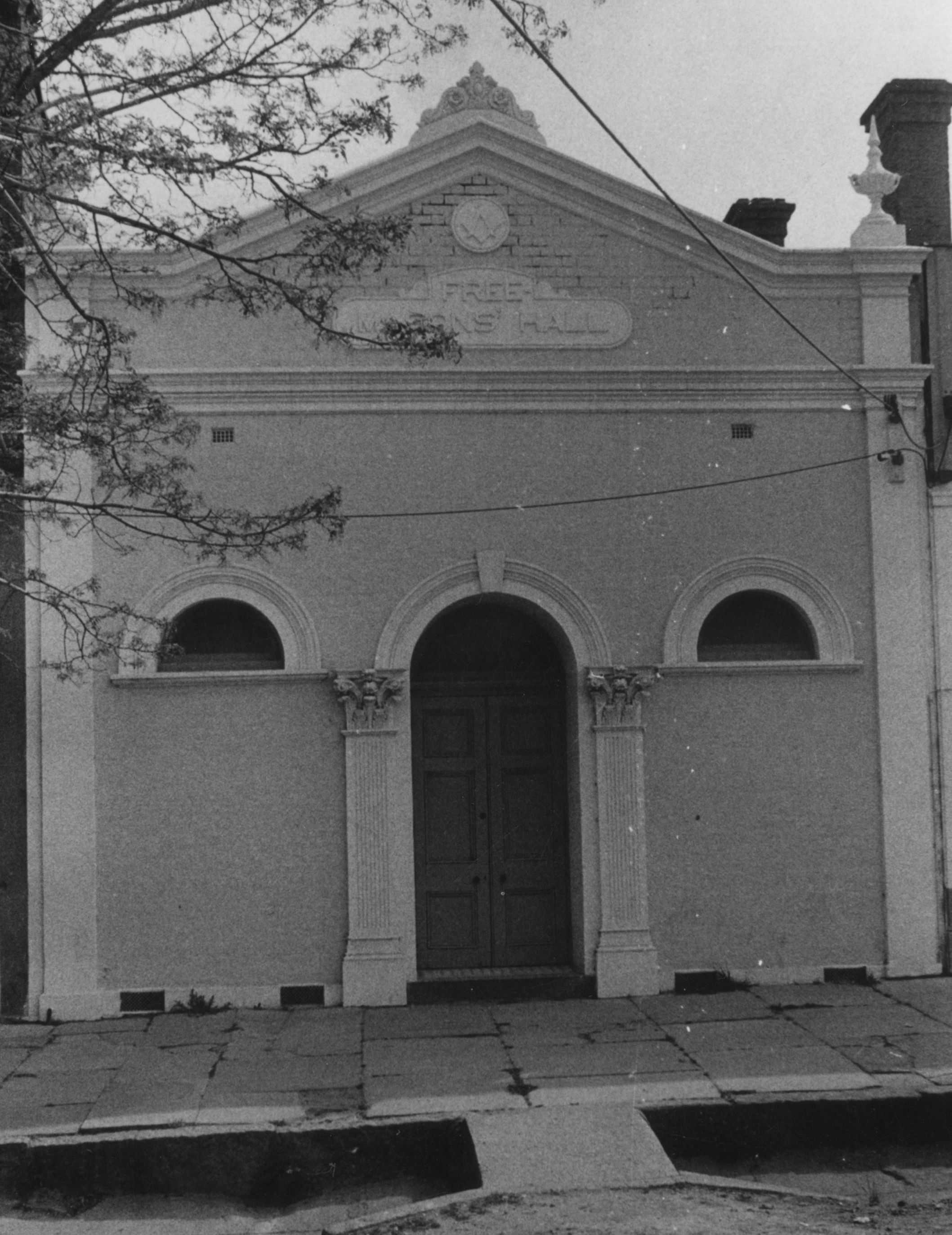 Freemasons' Hall, 1908