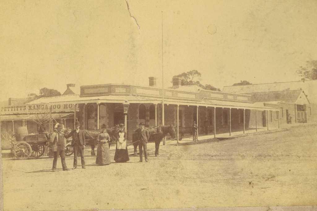 Kangaroo Hotel, 1866 & 1905