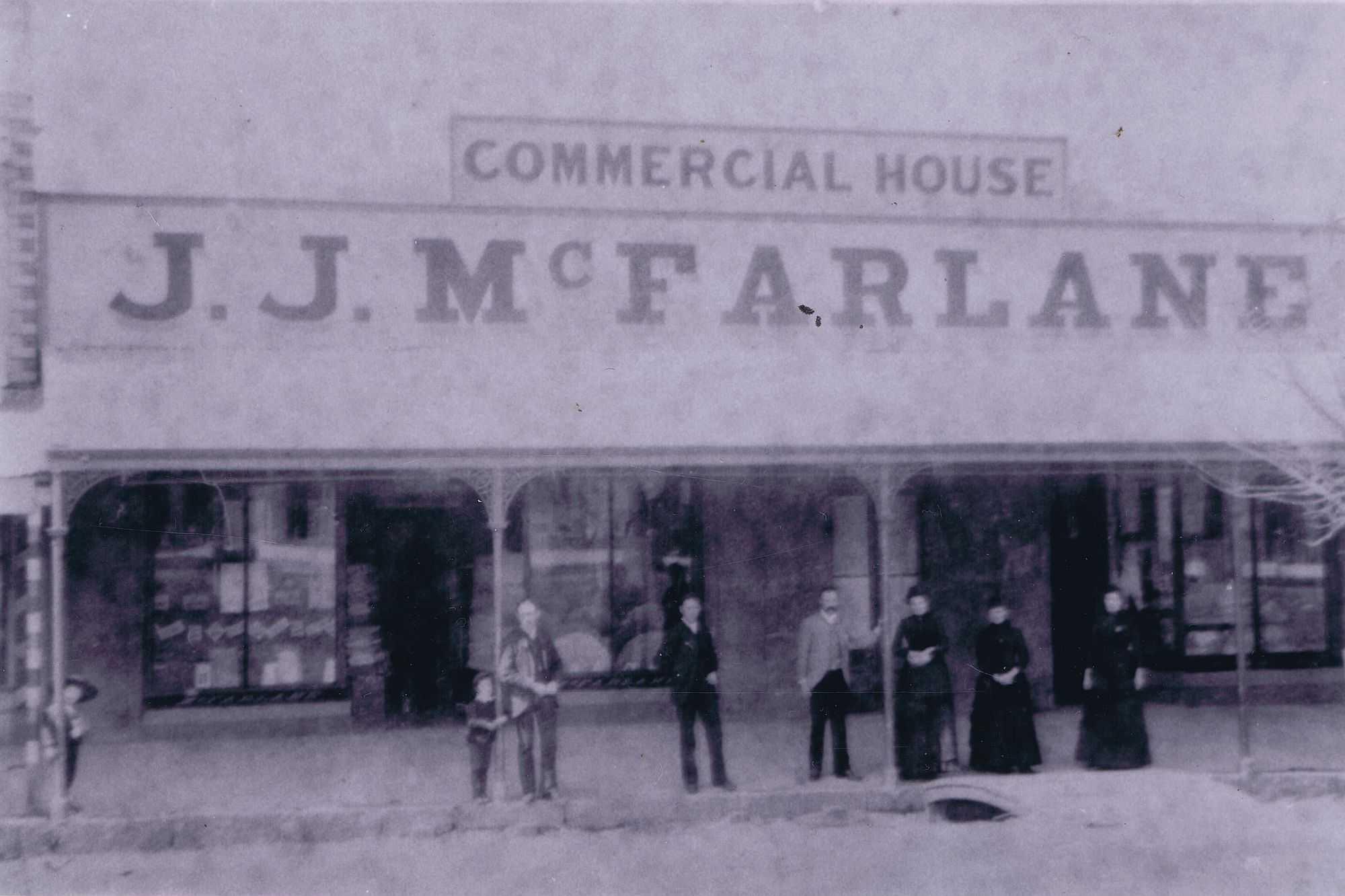 McFarlane's Drapery, c1875