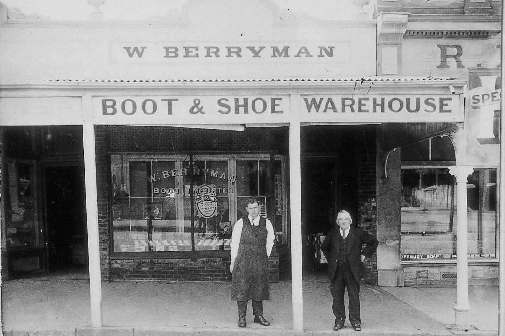 Berryman's Bootshop, 1895
